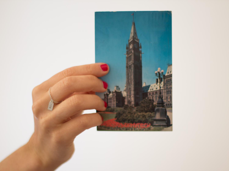 Auf alten Postkarten findet man die schönsten Geschichten. Wie auf dieser hier aus Ottawa aus dem Jahr 1963.