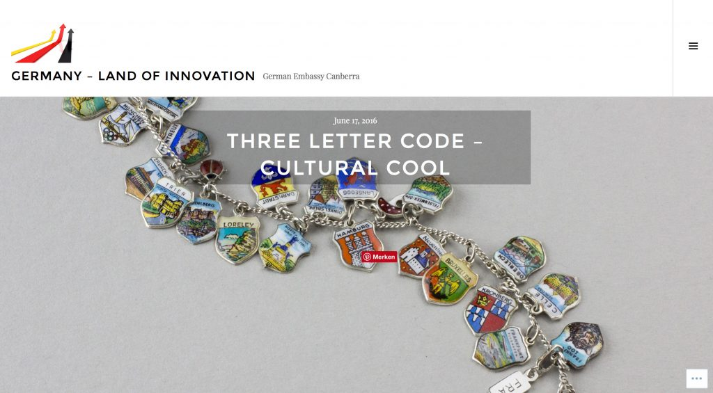 Dreilettercode - eine kleine deutsche Innovation!