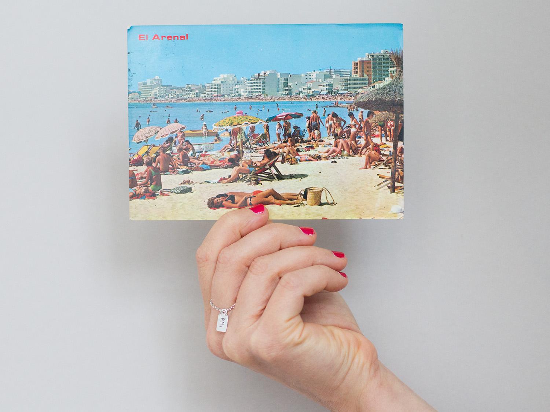 Auf alten Postkarten findet man die schönsten Geschichten. Wie auf dieser hier aus Palma de Mallorca von 1976.